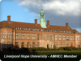 Liverpool Hope University - AMHEC Member